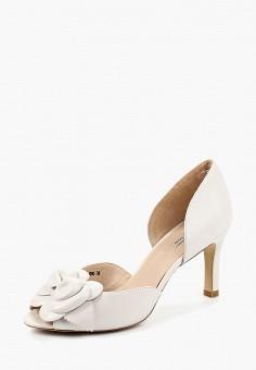 Босоножки, Julia Grossi, цвет: белый. Артикул: MP002XW192ID. Обувь / Босоножки