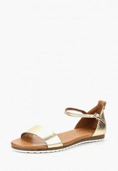 Сандалии, Tervolina, цвет: золотой. Артикул: MP002XW1937H. Обувь / Сандалии
