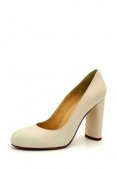 Туфли, tuiggi Milano, цвет: бежевый. Артикул: MP002XW19439. Обувь / Туфли / Закрытые туфли