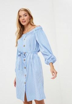 Платье, Masha Mart, цвет: голубой. Артикул: MP002XW1948Q. Одежда / Платья и сарафаны