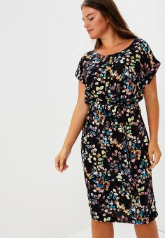 Платье, Balsako, цвет: черный. Артикул: MP002XW1948U. Одежда / Платья и сарафаны