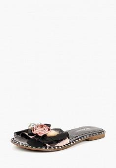 Сабо, Hestrend, цвет: черный. Артикул: MP002XW194GU. Обувь