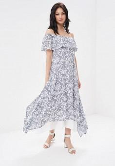 Платье, DizzyWay, цвет: серый. Артикул: MP002XW195UO. Одежда / Платья и сарафаны