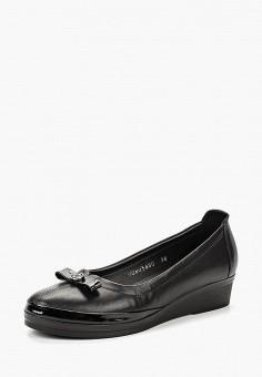 Туфли, Alessio Nesca, цвет: черный. Артикул: MP002XW1969O. Обувь / Туфли / Закрытые туфли