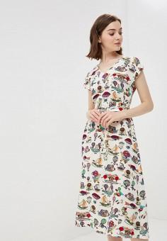 Платье, po Pogode, цвет: бежевый. Артикул: MP002XW196YA. Одежда / Платья и сарафаны