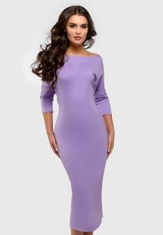Платье, 1001dress, цвет: фиолетовый. Артикул: MP002XW1988O. Одежда / Платья и сарафаны
