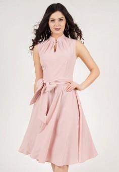 Платье, Grey Cat, цвет: розовый. Артикул: MP002XW198MX. Одежда / Платья и сарафаны