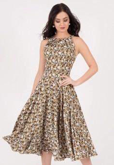 Платье, Grey Cat, цвет: мультиколор. Артикул: MP002XW198N1. Одежда / Платья и сарафаны