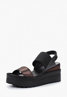 Босоножки, Tervolina, цвет: черный. Артикул: MP002XW19949. Обувь