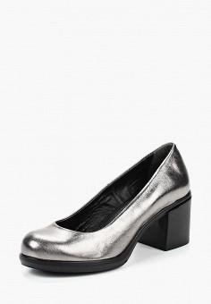 Туфли, Pierre Cardin, цвет: серебряный. Артикул: MP002XW199H8. Обувь / Туфли / Закрытые туфли