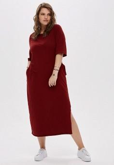 Платье, W&B, цвет: бордовый. Артикул: MP002XW19A43. Одежда / Платья и сарафаны