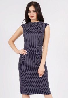 Платье, Grey Cat, цвет: синий. Артикул: MP002XW19B7H. Одежда