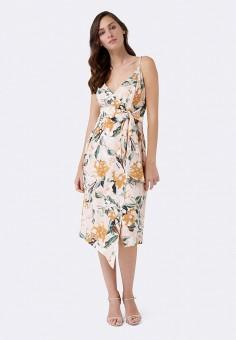 Платье, Forever New, цвет: бежевый. Артикул: MP002XW19BDW. Одежда / Платья и сарафаны