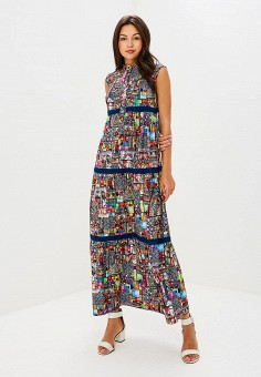 Платье, Tantino, цвет: мультиколор. Артикул: MP002XW19BFH. Одежда / Платья и сарафаны