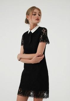 Платье, LIME, цвет: черный. Артикул: MP002XW19BPS. Одежда / Платья и сарафаны