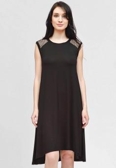 Платье, Vivostyle, цвет: черный. Артикул: MP002XW19C1O. Одежда / Платья и сарафаны