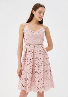 Платье, Top Secret, цвет: розовый. Артикул: MP002XW19C2T. Одежда / Платья и сарафаны