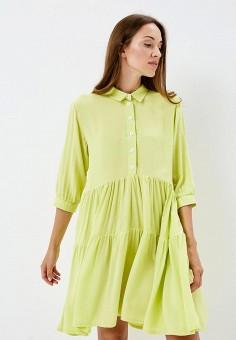 Платье, Gorchica, цвет: зеленый. Артикул: MP002XW19C4O. Одежда / Платья и сарафаны