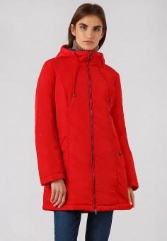 Куртка утепленная, Finn Flare, цвет: красный. Артикул: MP002XW19G5Q. Одежда / Верхняя одежда / Демисезонные куртки