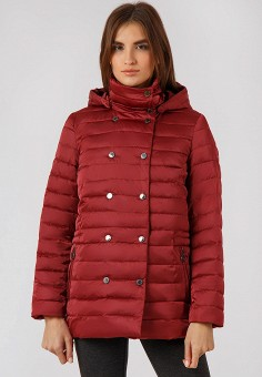 Куртка утепленная, Finn Flare, цвет: красный. Артикул: MP002XW19G6N. Одежда / Верхняя одежда / Демисезонные куртки