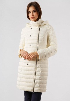 Куртка утепленная, Finn Flare, цвет: белый. Артикул: MP002XW19G7J. Одежда / Верхняя одежда / Демисезонные куртки