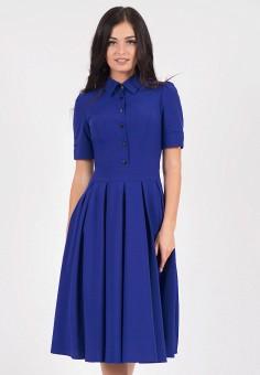 Платье, Grey Cat, цвет: синий. Артикул: MP002XW19G7O. Одежда