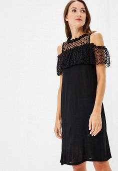 Платье, Top Secret, цвет: черный. Артикул: MP002XW19GGD. Одежда