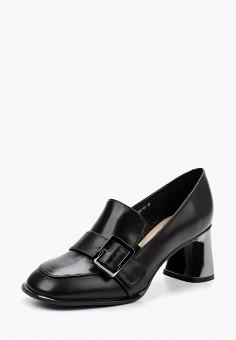 Туфли, Angelina Voloshina, цвет: черный. Артикул: MP002XW1AGEW. Обувь / Туфли / Закрытые туфли