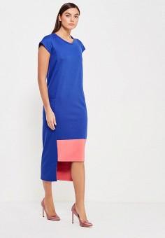 Платье, Alina Assi, цвет: синий. Артикул: MP002XW1AJF7. Одежда / Платья и сарафаны