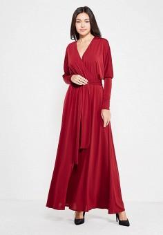 Платье, Alina Assi, цвет: бордовый. Артикул: MP002XW1AJH5. Одежда / Платья и сарафаны