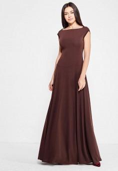 Платье, Alina Assi, цвет: коричневый. Артикул: MP002XW1AJJH. Одежда / Платья и сарафаны