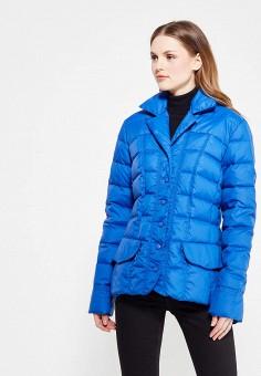 Пуховик, IST'OK, цвет: синий. Артикул: MP002XW1ALUS. Одежда / Верхняя одежда / Пуховики и зимние куртки