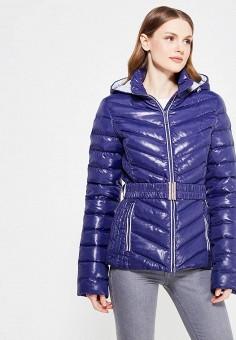 Пуховик, IST'OK, цвет: синий. Артикул: MP002XW1ALV0. Одежда / Верхняя одежда / Пуховики и зимние куртки