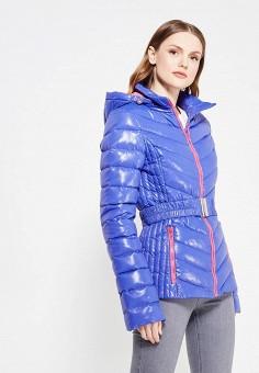 Пуховик, IST'OK, цвет: синий. Артикул: MP002XW1ALV1. Одежда / Верхняя одежда / Пуховики и зимние куртки
