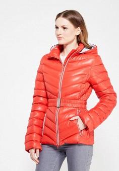 Пуховик, IST'OK, цвет: красный. Артикул: MP002XW1ALV2. Одежда / Верхняя одежда / Пуховики и зимние куртки