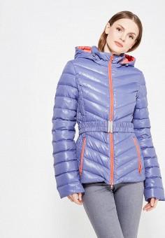 Пуховик, IST'OK, цвет: синий. Артикул: MP002XW1ALV3. Одежда / Верхняя одежда / Зимние куртки