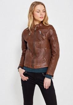 Куртка, Blue Monkey, цвет: коричневый. Артикул: MP002XW1AMY9.