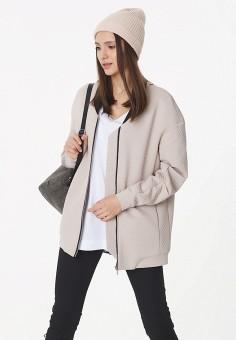 Куртка, Fly, цвет: бежевый. Артикул: MP002XW1ANHT. Одежда / Верхняя одежда / Легкие куртки и ветровки