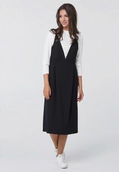 Сарафан, Fly, цвет: черный. Артикул: MP002XW1ANIF. Одежда / Платья и сарафаны