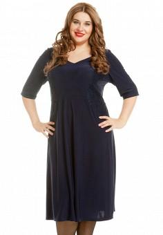 Платье, Luxury Plus, цвет: синий. Артикул: MP002XW1AOBW. Одежда