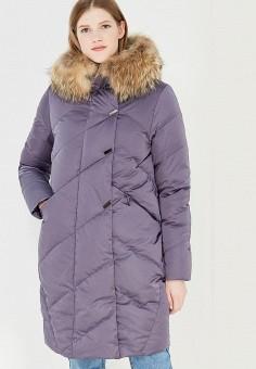 Пуховик, IST'OK, цвет: фиолетовый. Артикул: MP002XW1AOLZ. Одежда / Верхняя одежда / Зимние куртки