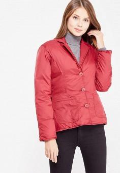 Пуховик, IST'OK, цвет: бордовый. Артикул: MP002XW1AOM3. Одежда / Верхняя одежда / Пуховики и зимние куртки