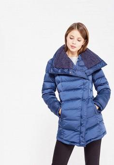 Пуховик, IST'OK, цвет: синий. Артикул: MP002XW1AOMM. Одежда / Верхняя одежда / Зимние куртки