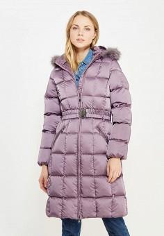Пуховик, IST'OK, цвет: фиолетовый. Артикул: MP002XW1AOMT. Одежда / Верхняя одежда