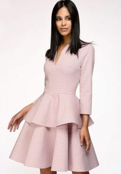 Платье, 1001dress, цвет: розовый. Артикул: MP002XW1AXJ0. Одежда / Платья и сарафаны