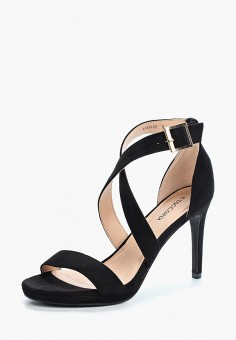 Босоножки, T.Taccardi, цвет: черный. Артикул: MP002XW1C8DK. Обувь