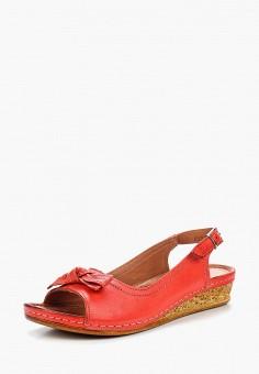 Сандалии, Alessio Nesca, цвет: красный. Артикул: MP002XW1C8E4. Обувь / Сандалии