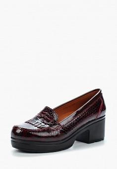 Туфли, Pierre Cardin, цвет: бордовый. Артикул: MP002XW1C8EQ. Обувь / Туфли / Закрытые туфли