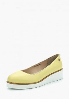 Туфли, Pierre Cardin, цвет: желтый. Артикул: MP002XW1C8F7. Обувь