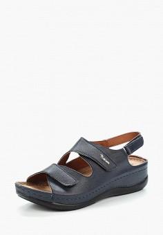 Сандалии, T.Taccardi, цвет: синий. Артикул: MP002XW1C8H2. Обувь